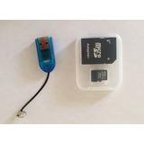 Tarjeta Memoria Micro Sd 16gb +adaptador Sd+pendrive