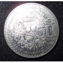 Moneda De 50 Pesos Templo Mayor, Coyolxauhqui, Envío Por Dhl
