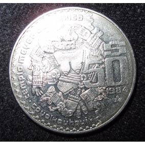Moneda De 50 Pesos Templo Mayor, Coyolxauhqui