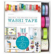Kit Decora Tus Proyectos Con Washi Tape (kits C Envío Gratis