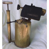 Soplete Manual De Bronce ( Kerosene Cap. 2 Lt. Sueco)