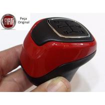Bola Cambio Palio 96 97 98 99 Vermelha Cromado Original Mobi