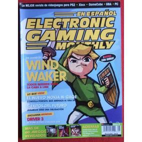 Revista Egm En Español Ps2,xbox,gamecube,gba,pc - 5 Numeros