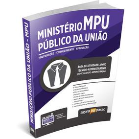 Concurso Mpu 2017 Técnico Administrativo. Envio Imédiato !