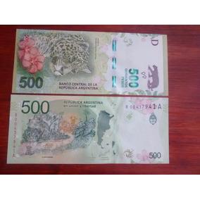 2016 - Reposición - 500 Pesos Nuevo Diseño - Sin Circular
