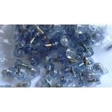 Kit 200 Vedantes Silicone 3/4 Ou 1/2 Pino Metal (macae -rj)