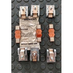 Contacto Platino Modelo 3ty7 520 - Oa Para Contactor 3tf52