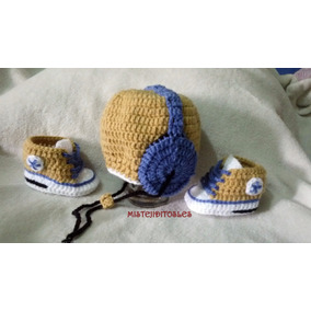 Gorro Tejido Crochet Bebe Niña Niño Adulto Venezuela