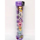 Pet Shop 5 Figuras De Animales En Cilindro 5cm