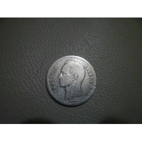 Monedas De Plata 1935 Y 1960. Estados Unidos De Venezuela