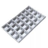 Forma P Tortei Pastel Tortelone Ravioli Aluminio 24 Cavidade