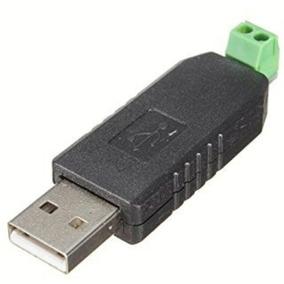Mini Adaptador Serial Conversor De Usb 2.0 P/ Rs-485 2 Pinos