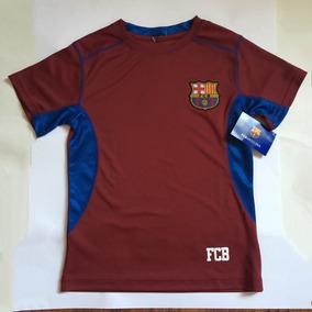 Playera Fc Barcelona Para Niño Talla Chica Barca