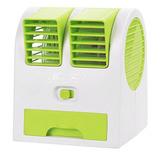 Mini Ventilador Portátil Usb Ar Condicionado Pc Aromatizador