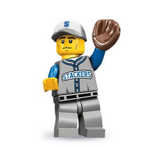 Lego Jugador Beisball Beisbol Serie 10 Legobricksrfun