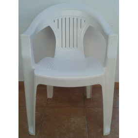 Silla Apilable Plastica Blanca Directo Fabrica (leer Descrip