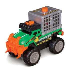 Veículo E Figura - Road Rippers - Dino Hauler - Verde - Dtc
