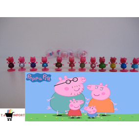 Peppa Pig 1 Polegada Para Brindes, Festa, E Venda 100uni