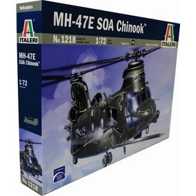 Italeri Helicoptero Chinook Mh-47 1/72 Armar Pintar / Revell