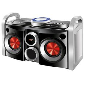 Mini System Ms-08b Super Sound Box,display De Led - Mondial