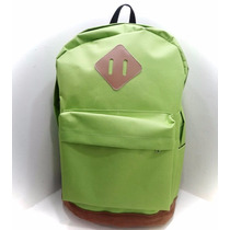 Bolso Morral Universidad Estilo Jansport Totto Verde Maleta
