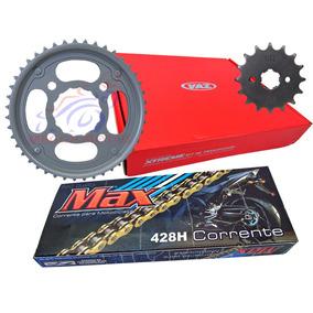 Kit Relação Honda Cg Titan 150 Ks/es/esd/fan/mix - Vaz Max