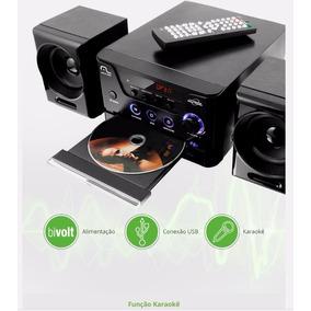 Mini System Dvd Usb Aparelho De Som 4 Em 1 Multilaser