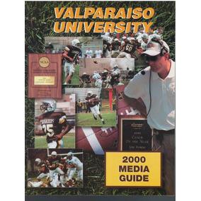 Revista Futbol Americano Colegial 2000 Valparaiso