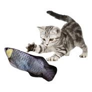 Peixe Elétrico Para Gato Brinquedo Usb (se_mexe_de_verdade)