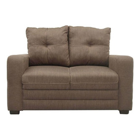 Sofá Loveseat Canda Tabaco - Fabou Muebles