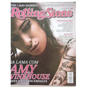 Revista Rolling Stone N 24-amy Winehouse,roberto Carlos,rush