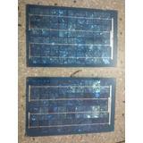 Combo Panel Solar 10+10 Wp Monocristalino 6 Y 12 Voltios