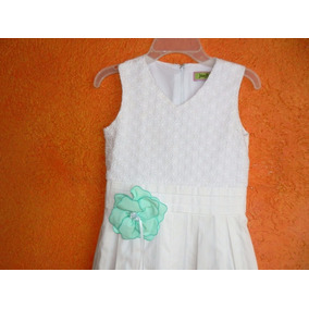 Vestido Para Primera Comunión Ó Confirmación 10 Años P/niña
