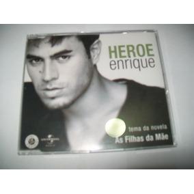 Cd Single Promo Nacional Enrique Iglesias-heroe*tema Novela