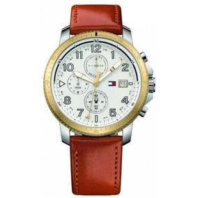 a373132639d Relógio Analógico Tommy Hilfiger Cinza Com Bronze - Relógios De ...