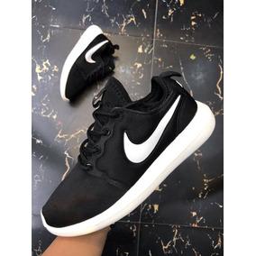 Tenis Zapatillas Nike Roshe Two Negra Blanca Hombre Mujer