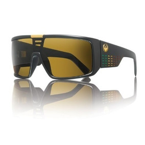 Gafas Dragon Alliance Decca Sunglasses Rasta, Bronce