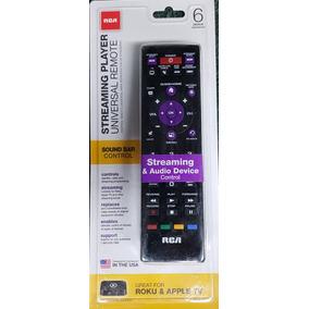 Control Remoto Universal 6 Disp. Con Streaming Media Rca