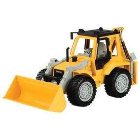 Veículo Com Luzes E Sons - Driven - Trator Escavadeira - Am