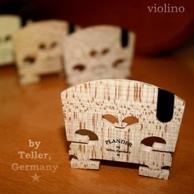 Cavalete Plander By Teller * Alemão Violino Ébano Corda Mi