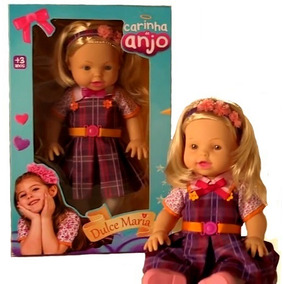 Boneca Grande Carinha De Anjo Dulce Maria Sbt - Baby Brink