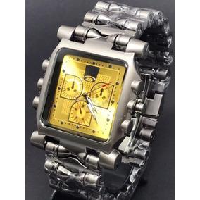 fbeaadde9bd20 Relógio Oakley Time Tank Fundo Dourado - Relógios no Mercado Livre ...