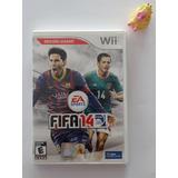 Fifa 14 Wii Solo Para Coleccionistas Muy Raro!! :)