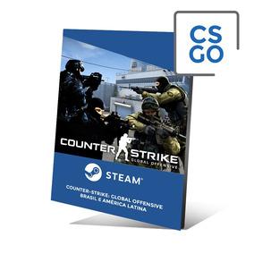 Counter Strike Global Offensive Cs Go Código Pc Cartão Steam