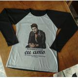 Camiseta Raglan Do Luan Santana - Feminina