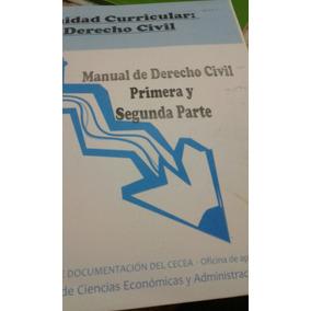 Derecho Civil Primera Y Segunda Parte Introducción Y Persona