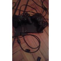 Playstation 2 + 2 Joystick + 10 Juegos