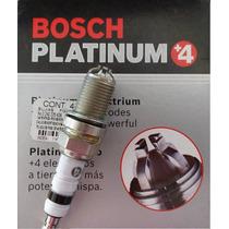 Juego 4 Bujias Bosch Platino +4, P/ Chevy Todos Los Modelos