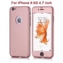 Funda Protector 360 + Cristal Templado Iphone 5 6 7 Plus