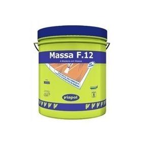 Massa F-12 1/4 1,65 Kg Nó De Pinus - Viapol